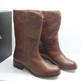 ブランド通販CHANEL 2017の大人気な新作 シャネル ブーツ シャネル CHANEL 中古 女性用ロングブーツ 靴 シューズ コーヒー 20851 brown激安屋-ブランドコピー 可能
