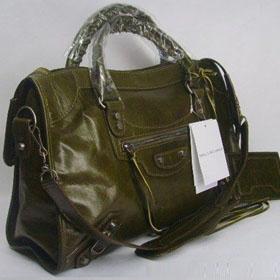 ブランド通販BALENCIAGA-バレンシアガ-084332_Dark green1激安屋-ブランドコピー 商品専門店ばれない