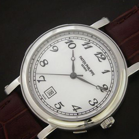 おしゃれなブランド時計がパテックフィリップ-カラトラバ-PATEK PHILIPPE-4860-ah-男性用を提供します. 安全なところ
