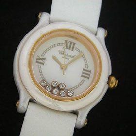おしゃれなブランド時計がショパール-CHOPARD-ハッピースポーツ-27/8245-23-ab  女性用腕時計を提供します. 商品代引き