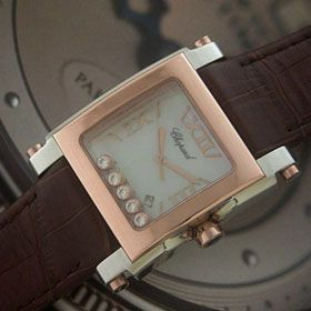 おしゃれなブランド時計がショパール-CHOPARD-ハッピースポーツ-288471-4001-ah  男/女性用腕時計を提供します. 安全通販信用できる