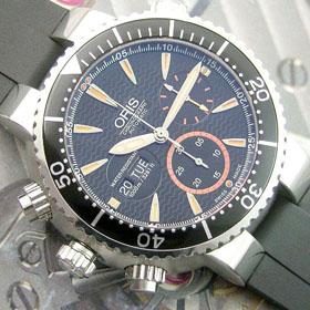 おしゃれなブランド時計がオリス-ダイバーズ-ORIS-649-7610-7164-R-aa-男性用を提供します. 安全安い