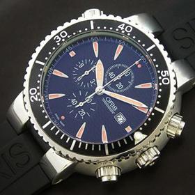 おしゃれなブランド時計がオリス-ダイバーズ-ORIS-674 7542 70 54 R-ag- 男性用を提供します. 通販人気