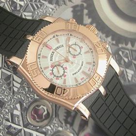 おしゃれなブランド時計がロジェデュブ-イージーダイバーROGER DUBUIS-SE46 56 9-ae-男性用を提供します. 安全通販届く