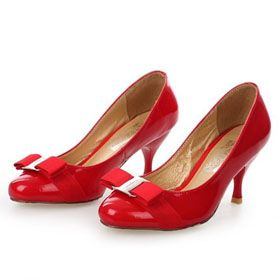 ブランド通販フェラガモ Ferragamo 人气 ハイヒール フェラガモ 女性革靴 レッド 2039激安屋-ブランドコピー 最高級品