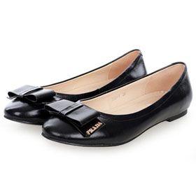 ブランド通販PRADA フラットシューズ プラダ PRADA 革靴 パンプス ブラック 2026激安屋-ブランドコピー 安全専門店代引き新作