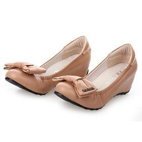 ブランド通販PRADA フラットシューズ プラダ PRADA 革靴 パンプス ベージュ 2035激安屋-ブランドコピー 通販サイト