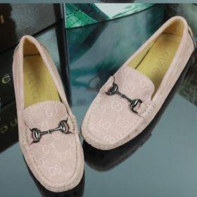 ブランド通販グッチ スニーカー GUCCI  グッチ 2017新品 フラットシューズ 女性革靴 ピンク8032 pink激安屋-ブランドコピー 代引き中国国内発送メンズ