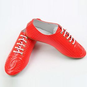 ブランド通販シャネル フラットシューズ CHANEL シャネル 2017 靴 新品 スニーカー シューズ レッド 革靴 8027激安屋-ブランドコピー 安全通販信用できる