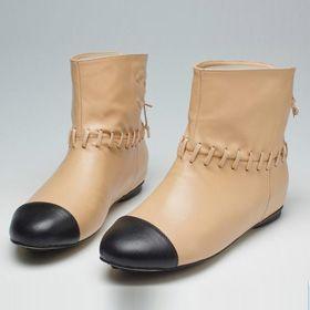ブランド通販CHANEL 2017の大人気な新作 シャネル ブーツ シャネル CHANEL 中古 女性用ロングブーツ 靴 シューズ ベージュ 20948 apricot激安屋-ブランドコピー 安全専門