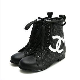 ブランド通販シャネル 中古 長靴 CHANEL ブーツ 靴 シューズ 23155 ブラック激安屋-ブランドコピー 代引き通販通販後払い