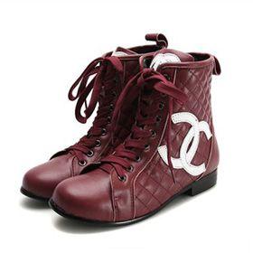 ブランド通販シャネル 中古 長靴 CHANEL ブーツ 靴 シューズ 23155 ワインレッド激安屋-ブランドコピー 代引き可