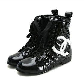 ブランド通販シャネル 中古 長靴 CHANEL ブーツ 靴 シューズ 23156 ブラック激安屋-ブランドコピー 販売通販後払い
