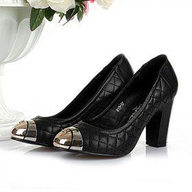 ブランド通販シャネル 革靴 パンプス CHANEL 新作 23224 ハイヒール スニーカー ブラック激安屋-ブランドコピー おすすめ通販代引き