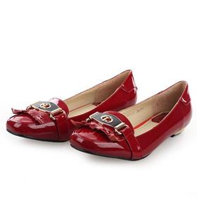 ブランド通販2017送料無料 ハイヒール パンプス Christian Dior ハイヒール 革靴 フラットシューズ 8026 レッド激安屋-ブランドコピー 代金引換国内