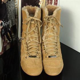 ブランド通販2017送料無料 ハイヒール スニーカー Christian Dior ハイヒール 革靴 女性フラットシューズ 23151 ベージュ激安屋-ブランドコピー おすすめ通販信用できる