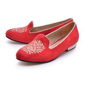 ブランド通販ミュウミュウ miumiu フラットシューズ 人気 ミュウミュウ レッド 靴?シューズ 送料無料 2068激安屋-ブランドコピー 商品販売