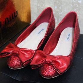 ブランド通販新作 miumiu フラットシューズ ミュウミュウ M2236 靴 ビジュー激安屋-ブランドコピー 安全サイト