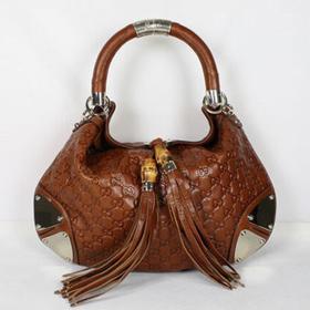 ブランド通販GUCCI-グッチ-177139茶褐色  ハンドバッグ激安屋-ブランドコピー おすすめ通販代引き