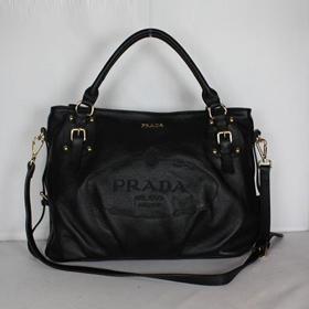 ブランド通販PRADA-プラダ-80010_黑  ハンドバッグ 激安屋-ブランドコピー 安全通販信用できる