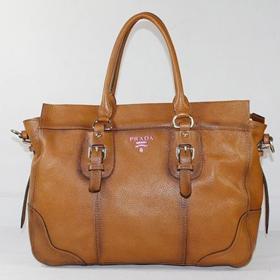 ブランド通販PRADA-プラダ-80038_茶褐色  ハンドバッグ 激安屋-ブランドコピー 商品通販