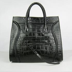 ブランド通販CELINE-セリーヌ-6028A-black ハンドバッグ激安屋-ブランドコピー 商品専門店