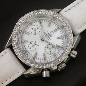 おしゃれなブランド時計がオメガ-スピードマスター-OMEGA-OM00048J-女性用を提供します. おすすめ偽物専門店届かない