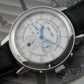 おしゃれなブランド時計がパテックフィリップ-パーペチュアル-カレンダー-PATEK PHILIPPE-5970R-ag-男性用を提供します. 格安