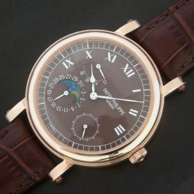 おしゃれなブランド時計がパテックフィリップ-コンプリケーション-PATEK PHILIPPE-5054J-001-an-男性用を提供します. 代引き専門