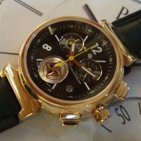 おしゃれなブランド時計がルイヴィトン-タンブール-LOUIS VUITTON-LV00024J-女性用を提供します. 代引き対応通販後払い