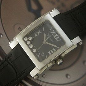 おしゃれなブランド時計がショパール-CHOPARD-ハッピースポーツ-278497-9001-ag 男/女性用腕時計を提供します. 安全サイト