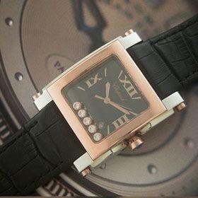 おしゃれなブランド時計がショパール-CHOPARD-ハッピースポーツ-278497-9001-ai  男/女性用腕時計を提供します. 代引き通販通販後払い