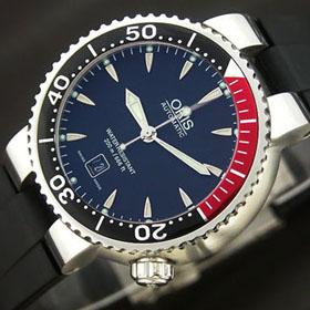 おしゃれなブランド時計がオリス-ダイバーズ-ORIS-733 7541 71 54 R-ac- 男性用を提供します. 専門店代引き