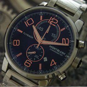 おしゃれなブランド時計がモンブラン-MONTBLANC-MO00018J-日本チップ 男性用腕時計を提供します. おすすめ専門店代引き新作