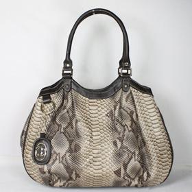 ブランド通販GUCCI-グッチ-211944グレー  ハンドバッグ激安屋-ブランドコピー 代引きファッション通販